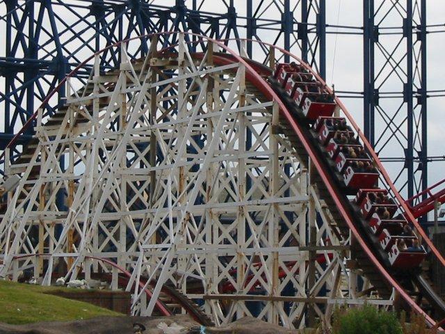 Coaster Kingdom - Big Dipper, Pleasure Beach Blackpool